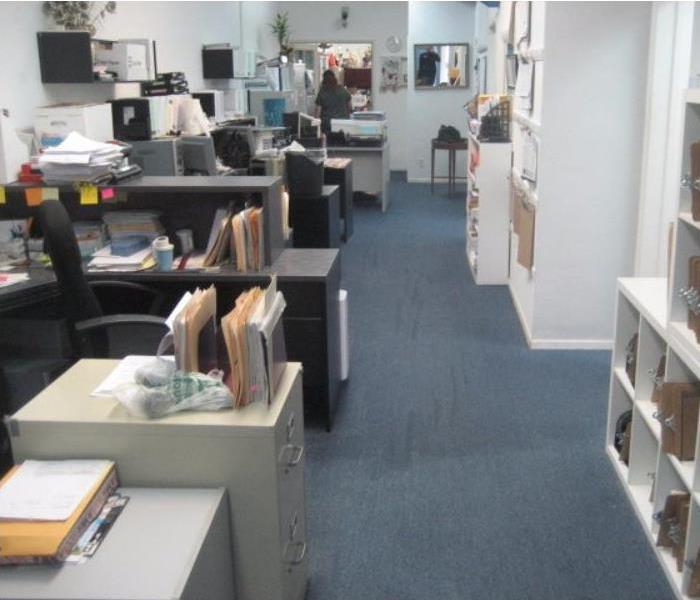 Commercial Office Saved From Water Damage Before