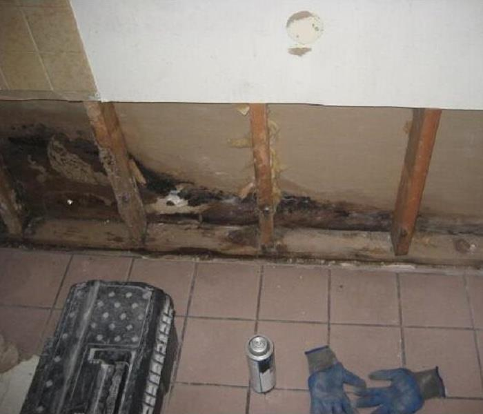 Pipe burst at a Dentist Office