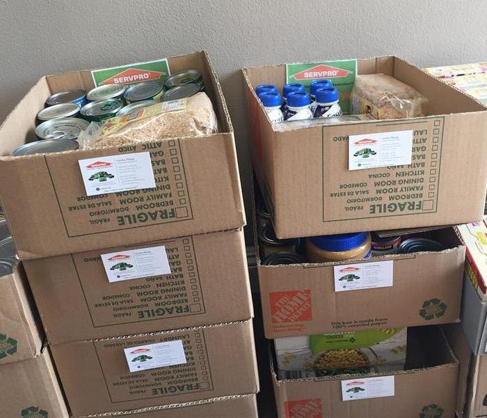 Community SERVPRO of Alhambra Food Drive